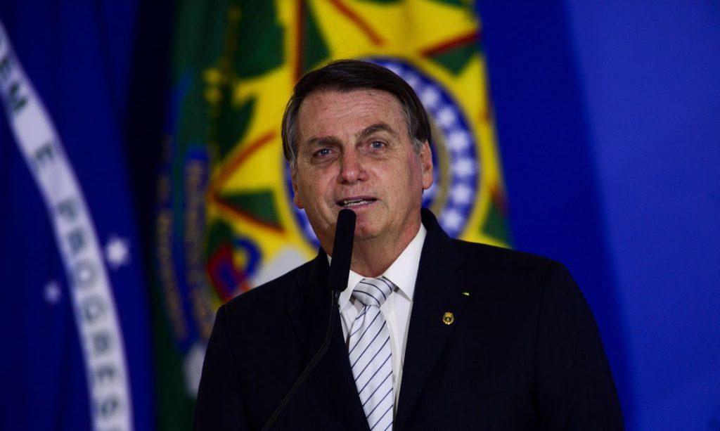 Em pronunciamento, Bolsonaro destaca ações contra covid-19