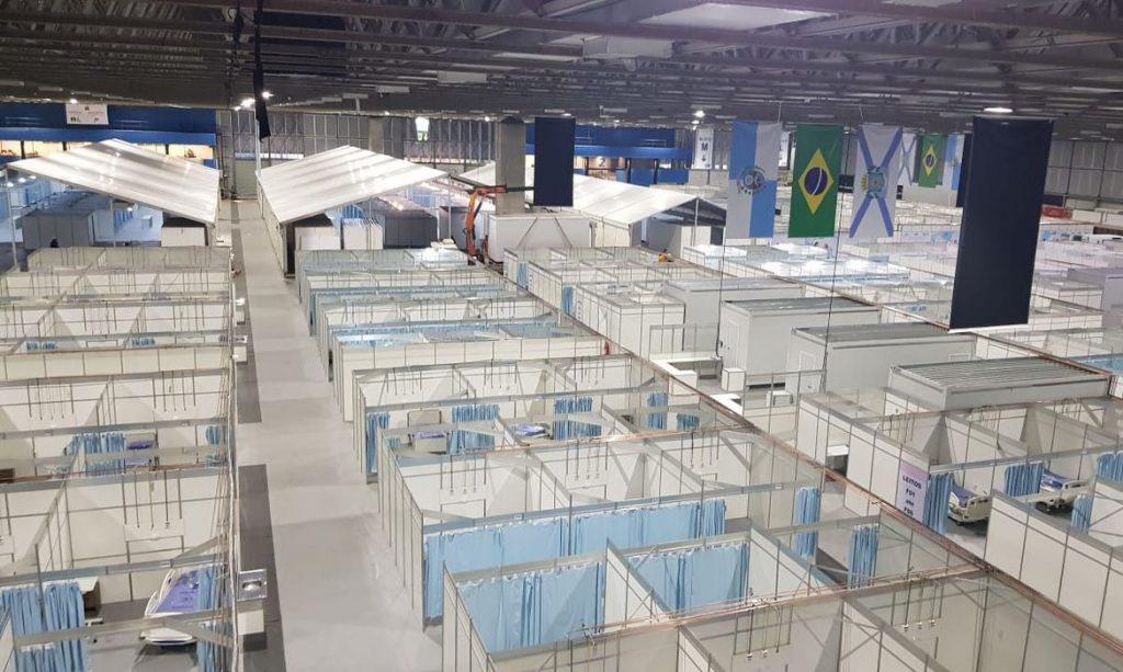 Prefeitura do Rio desmobiliza Hospital de Campanha do Riocentro
