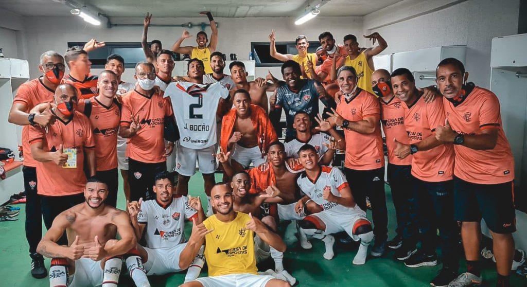 Samuel vibra com o primeiro gol como profissional e Rodrigo enaltece a garotada