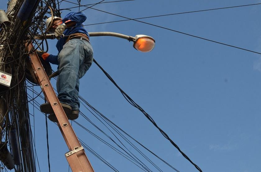 Mutirão de iluminação pública começa na próxima semana