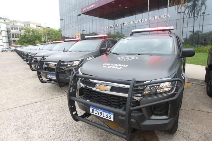 Governo do Estado reforça segurança de 15 municípios com entrega de 50 viaturas