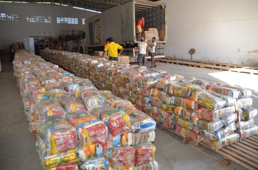 Prefeitura de Alagoinhas entregou mais de 157 toneladas de alimentos aos estudantes da rede municipal