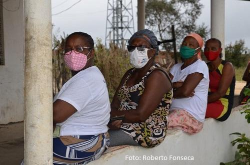 Alagoinhas neste sábado vacinou a comunidades quilombolas