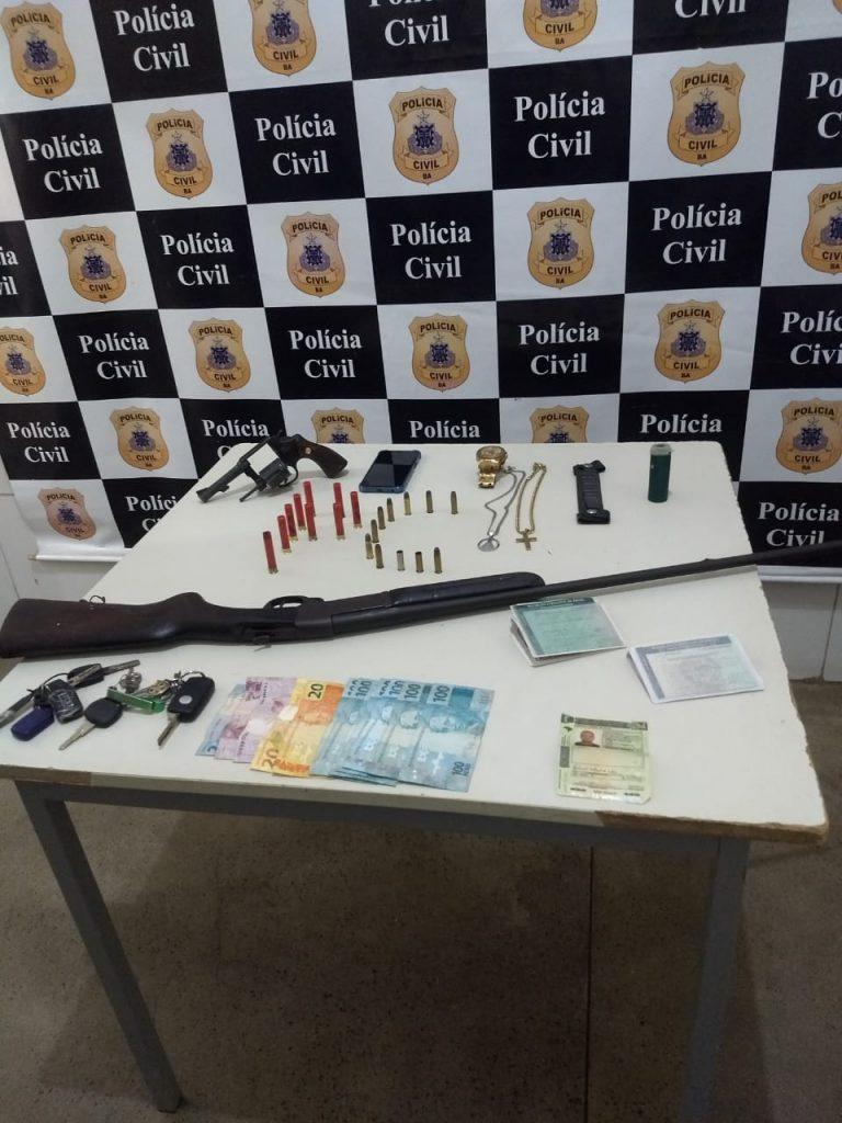 Investigado por homicídio e roubo a banco é preso em Juazeiro