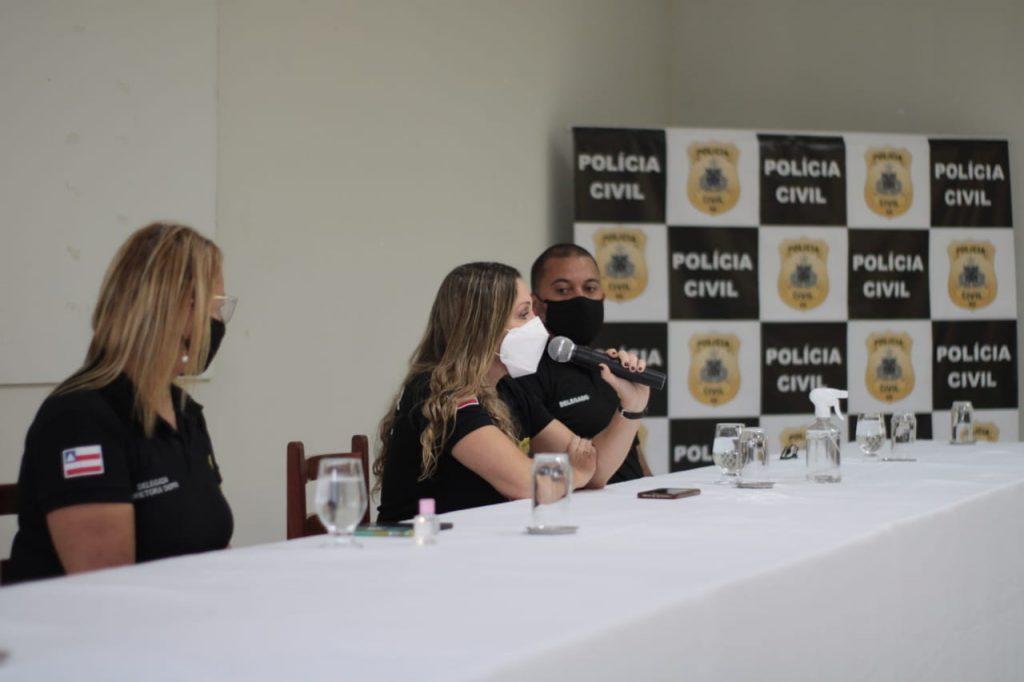 Delegada-Geral se reúne com servidores da Coorpin de Alagoinhas