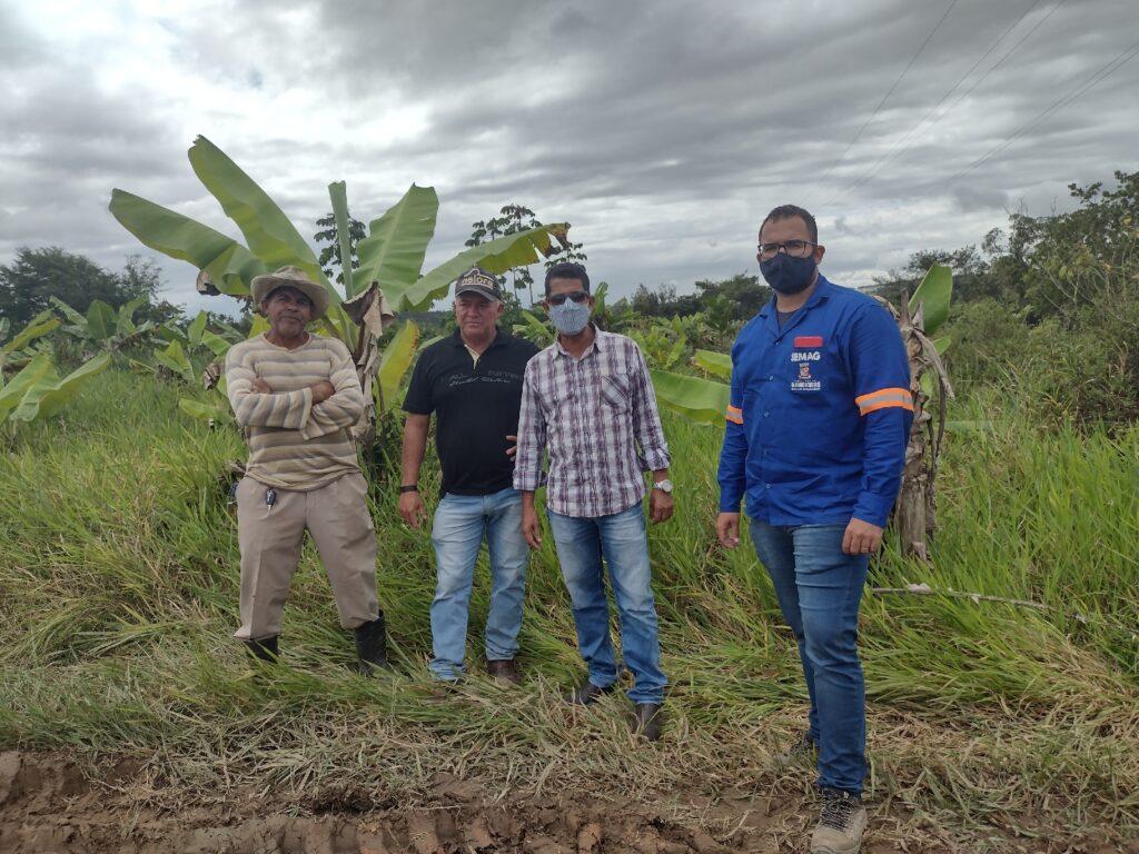 Ponta pé inicial é dado ao Projeto Agroindústria da COOPAMA, com o apoio da Prefeitura de Alagoinhas