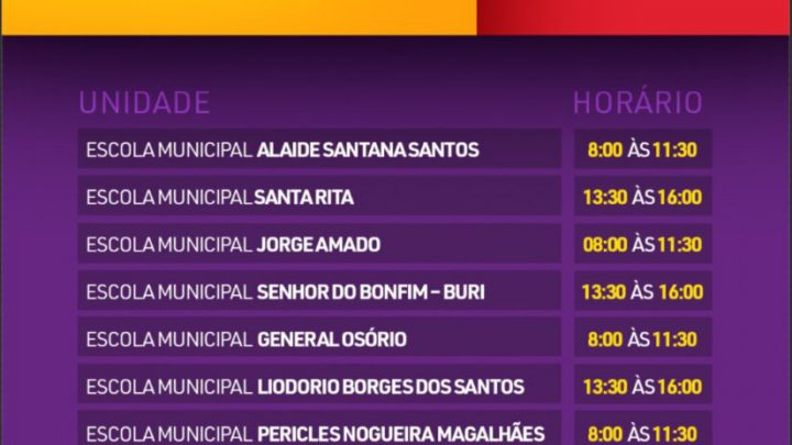 Prefeitura de Alagoinhas divulga novo cronograma de entrega das cestas básicas na Rede Municipal de Ensino