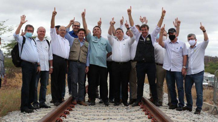 Presidente participa da assinatura de concessão da ferrovia na Bahia